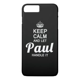 Behalten Sie ruhig und lassen Sie Paul es iPhone 8 Plus/7 Plus Hülle