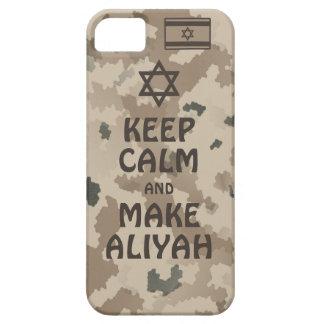 Behalten Sie ruhig und machen Sie Aliyah - Wüste Schutzhülle Fürs iPhone 5