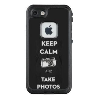 Behalten Sie ruhig und nehmen Sie Fotos Iphone 7 LifeProof FRÄ' iPhone 8/7 Hülle