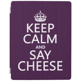 Behalten Sie ruhig und sagen Sie Käse (Fotografie) iPad Smart Cover