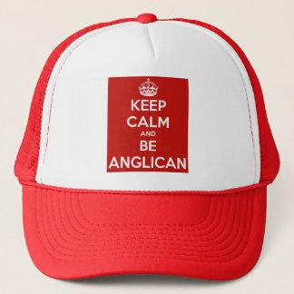 Behalten Sie ruhig und seien Sie anglikanisch Truckerkappe