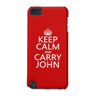 Behalten Sie ruhig und tragen Sie John (irgendeine iPod Touch 5G Hülle