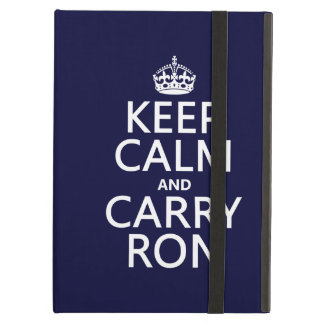 Behalten Sie ruhig und tragen Sie Ron (irgendeine
