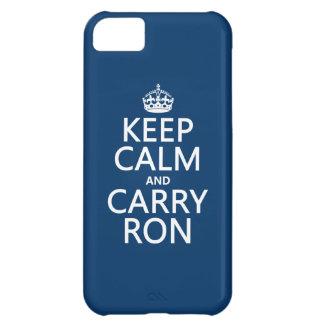 Behalten Sie ruhig und tragen Sie Ron (irgendeine iPhone 5C Hülle