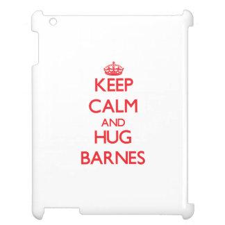 Behalten Sie ruhig und Umarmung Barnes iPad Hüllen