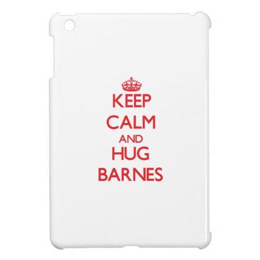 Behalten Sie ruhig und Umarmung Barnes iPad Mini Schale
