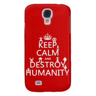 Behalten Sie ruhig und zerstören Sie Galaxy S4 Hülle