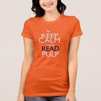 Behalten Sie ruhige Behälter Spitze T-Shirt