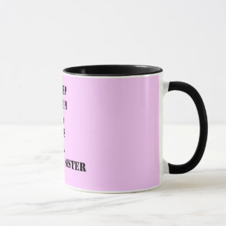 behalten Sie ruhige sunnah Schwester-Tasse Tasse