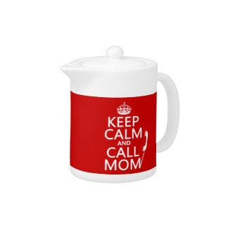 Behalten Sie ruhige und Anruf-Mamma - alle Farben