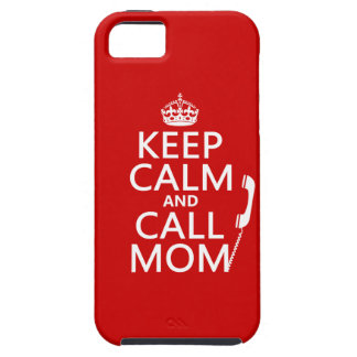 Behalten Sie ruhige und Anruf-Mamma - alle Farben Schutzhülle Fürs iPhone 5