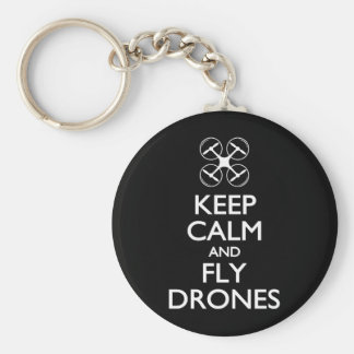 Behalten Sie ruhige und Fliegen-Drohnen Schlüsselanhänger