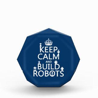 Behalten Sie ruhige und Gestalt-Roboter (in Auszeichnung