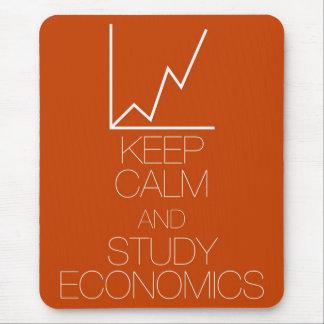 Behalten Sie ruhige und Studien-Wirtschaft Mousepad
