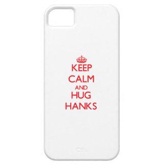 Behalten Sie ruhige und Umarmungs-Knäuel iPhone 5 Case