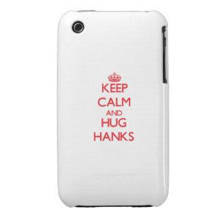 Behalten Sie ruhige und Umarmungs-Knäuel iPhone 3 Hülle