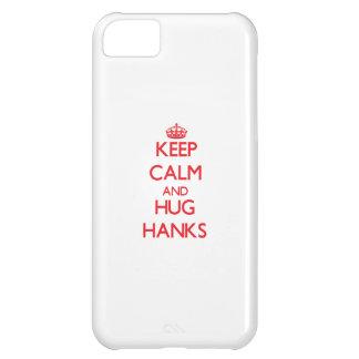 Behalten Sie ruhige und Umarmungs-Knäuel iPhone 5C Schale
