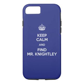 Behalten Sie ruhigen Entdeckungs-Herrn Knightley iPhone 8/7 Hülle