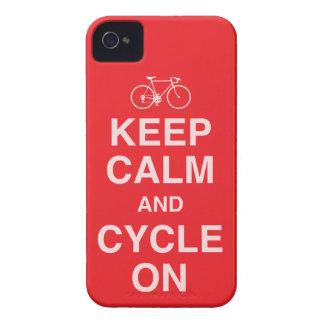 Behalten Sie ruhigen Fahrrad iPhone 4 Fall iPhone 4 Hüllen