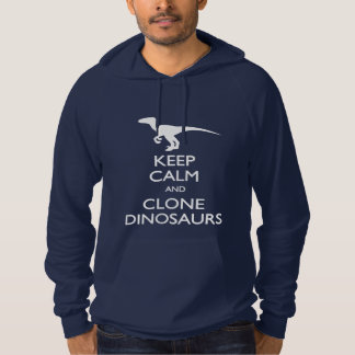 Behalten Sie ruhigen Klon-Dinosaurier-T - Shirt