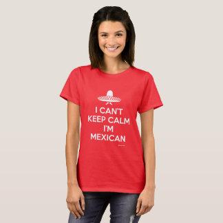 Behalten Sie ruhigen Mexikaner T-Shirt
