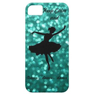 Behalten Sie ruhiger u. Tanz iPhone 5 Fall Schutzhülle Fürs iPhone 5