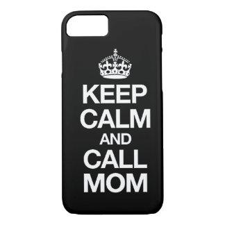 Behalten Sie ruhiger und Anruf-Mamma iPhone 7 Fall iPhone 8/7 Hülle