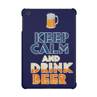 Behalten Sie ruhiger und Getränk-Bier Ipad