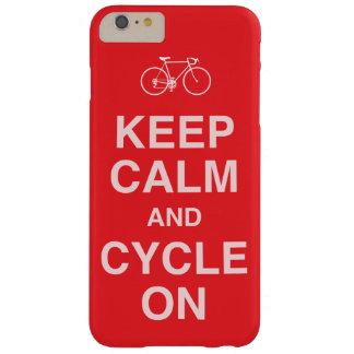 Behalten Sie ruhiges Fahrrad Barely There iPhone 6 Plus Hülle