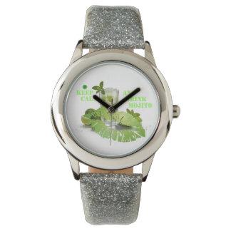 Behalten Sie ruhiges Mojito Uhr