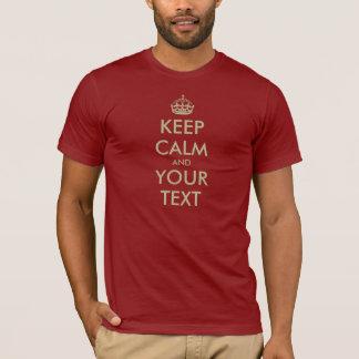 Behalten Sie ruhiges Shirt | kundengerecht mit