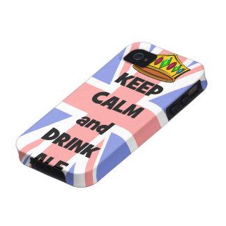 behalten Sie ruhiges und Getränkale Case-Mate iPhone 4 Hüllen