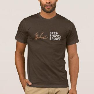 Behalten Sie Shasta Brown T-Stück T-Shirt