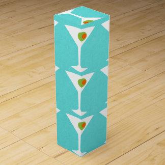 Behalten Sie sie kommender Martini-Wein-Kasten Weinbox