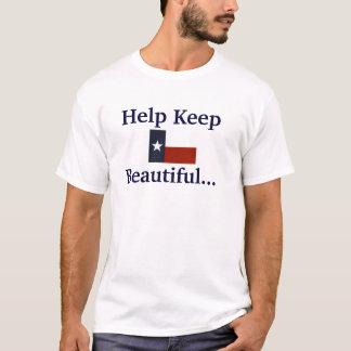 Behalten Sie Texas schön… setzen einen Yankee auf T-Shirt