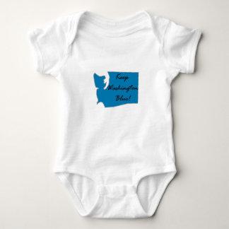 Behalten Sie Washington blau! Demokratischer Baby Strampler
