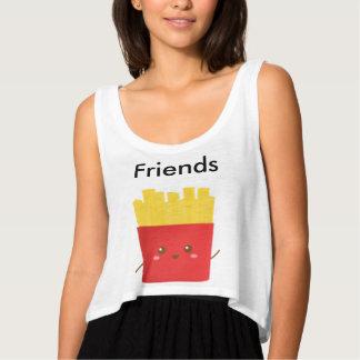 Behälter der besten Freunde Bauchfreier Tank-Top