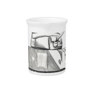 Behälter-Kampf-Eule Getränke Pitcher