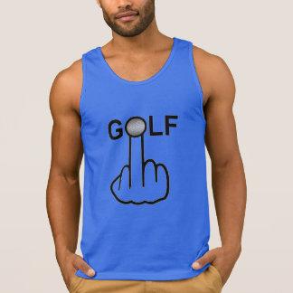 Behälter-Spitzen-Golf drehen um Tank Top