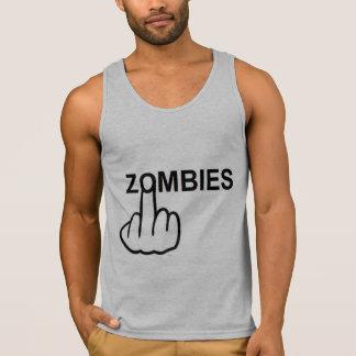 Behälter-Spitzen-Zombies drehen um Tank Top