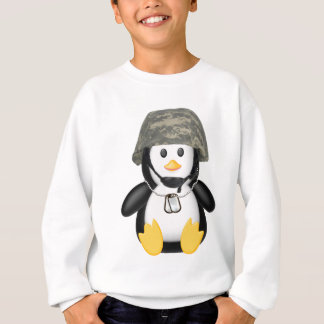 Behelmter Pinguin Sweatshirt
