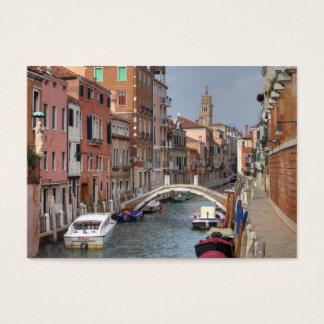 Bei Dorsoduro Venedig Italien Visitenkarte