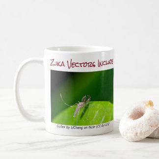 Beide sind Zika vektorTasse durch RoseWrites Kaffeetasse