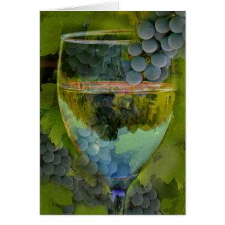 Beifall-alles- Gute zum Geburtstagwein-Karte! Karte