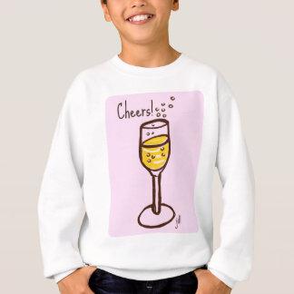 Beifall! Champagne-Skizze durch Jill im 60errosa Sweatshirt