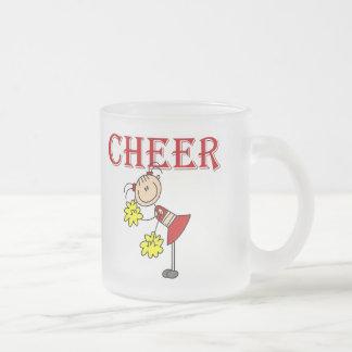 BEIFALL Cheerleader-T-Shirts und Geschenke Mattglastasse