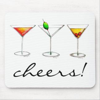 Beifall! Cocktail-Glas Margarita Manhattan Cosmo Mousepad
