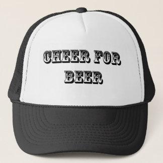 Beifall für Bier Truckerkappe
