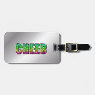 Beifall-Glitzer-Regenbogen Kofferanhänger