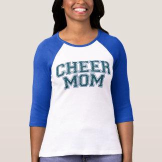 Beifall-Mamma-blauer Glitzer-T - Shirt